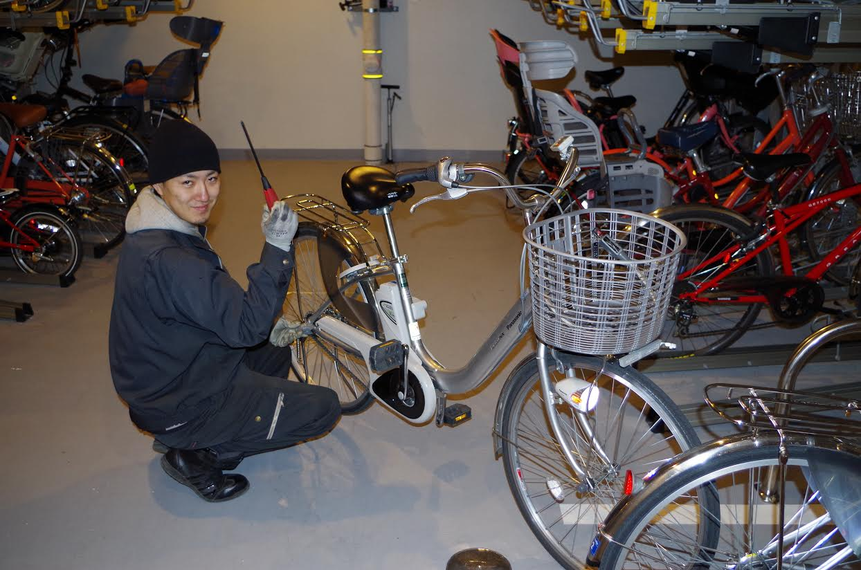 電動自転車の修理もおまかせ イメージ